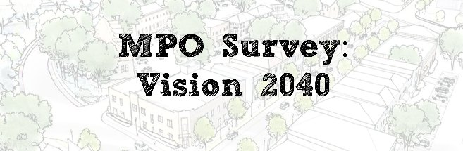 The Dover/Kent County MPO is updating its long-range plan, called Vision 2040. If you have a few minutes, please take our survey, which will help us look at transportation needs for the next 20 or more years. Thanks!